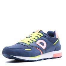 德尔惠女鞋运动鞋新款跑步鞋复古休闲鞋女慢跑鞋正品71624528