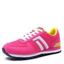 德尔惠女鞋秋季跑步鞋透气运动鞋轻便复古跑鞋休闲鞋女旅游鞋72624546