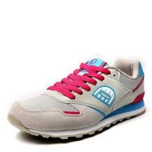德尔惠女鞋春季复古跑步鞋新款女士运动鞋休闲慢跑鞋女旅游鞋T71624528