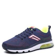 德尔惠男鞋春季跑步鞋新款气垫鞋运动鞋休闲旅游鞋跑鞋情侣气垫鞋23613696