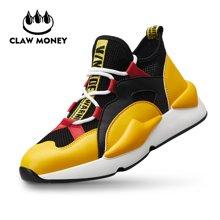 Claw Money男鞋個性運動時尚跑鞋休閑鞋