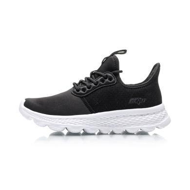 李寧跑步鞋女鞋2019新款eazgo夏季舒適透氣情侶鞋低幫運動鞋女AREP016