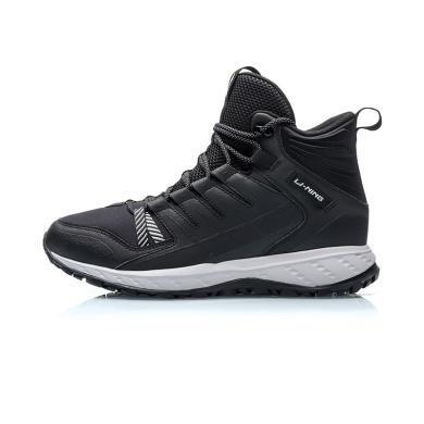 李寧跑步鞋男鞋男士減震防滑戶外跑鞋高幫運動鞋男ARHP215