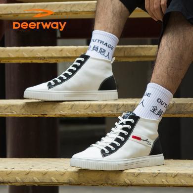 德爾惠帆布鞋D931015032