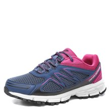 德尔惠登山鞋女防滑透气徒步鞋春季低帮运动女鞋系带户外鞋越野鞋43624020