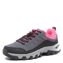 德尔惠女鞋春季新款登山鞋女运动鞋正品徒步鞋女户外鞋跑步鞋44624090