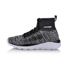 李宁健身鞋男鞋2018新款透气减震耐磨防滑包裹一体织运动鞋AFHN013