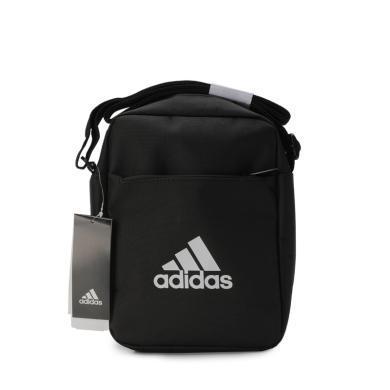 adidas阿迪達斯2019年新款男包女包簡約休閑旅行斜挎包單肩包ED6877