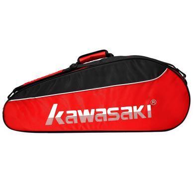 川崎羽毛球包雙肩背包網球包男女便攜手提多功能羽毛球拍包袋8308