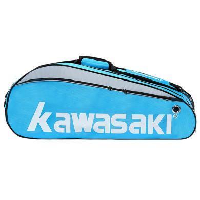 川崎正品新款羽毛球包双肩背包3支装?#20449;?#22810;功能大容量运动网球包047