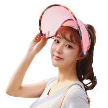 【支持购物卡】韩国Lets diet 新款限量版光护美肤遮阳帽防晒帽遮阳太阳帽 防紫外线