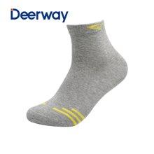 德尔惠女士防臭吸汗袜子运动休闲短袜学生袜【颜色随机发货】