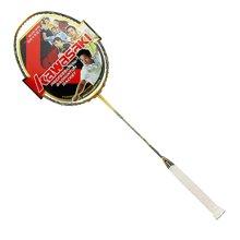 川崎(kawasaki)羽毛球拍全碳素拍大師系列進攻拍(穿線服務)