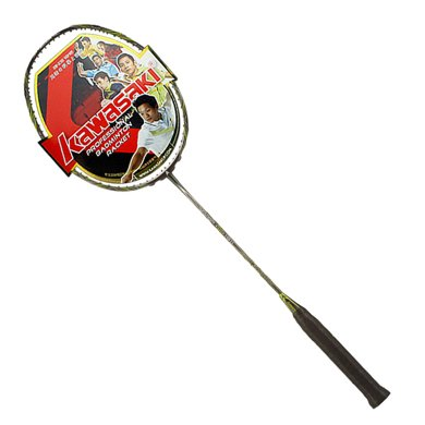 KAWASAKI川崎  羽毛球拍五星專業比賽球拍雷蛇系列30T高剛性碳素NE19可拉30磅