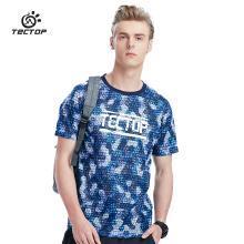 TECTOP/探拓男款休閑短袖T恤迷彩印花速干輕薄透氣