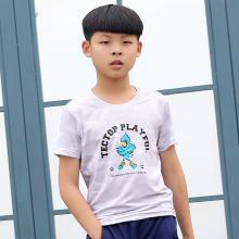 TECTOP/探拓春夏户外运动短袖T恤儿童款透气舒适速干衣