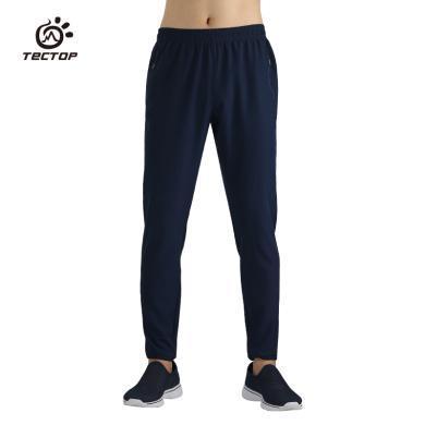 探拓男款舒适?#38041;?#24377;力长裤休闲运动长裤