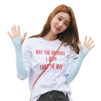 【支持購物卡】韓國Lets diet防曬冰袖 防曬袖套 時尚防曬冰絲 防曬遮陽透氣舒適 成人男女款