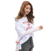 【支持购物卡】韩国Lets diet防晒冰袖 防晒袖套 时尚防晒冰丝 防晒遮阳透气舒适 成人男女款