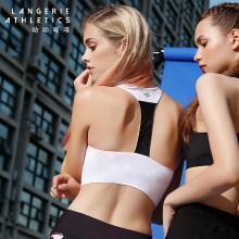 动动嗒嗒丨兰卓丽子品牌 半高领美背半身支撑运动文胸瑜伽轻度支撑少女内衣 3A0810006