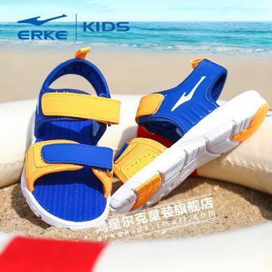鸿星尔克儿童夏新款运动凉鞋夏季新款中大童?#20449;?#31461;凉鞋 宝宝软底凉鞋 小孩沙滩凉鞋 沙滩鞋63116210051
