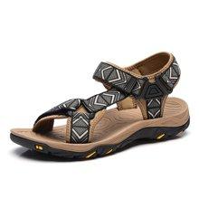乐嘉途夏季男凉鞋男士织带沙滩鞋户外运动鞋休闲凉鞋透气凉拖鞋男L2039