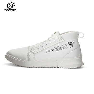 TECTOP/探拓户外秋冬舒适时尚加绒轻便休闲运动板鞋男士
