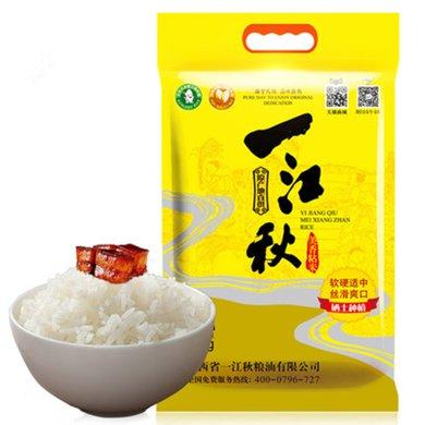煲仔飯用米 一江秋美香粘大米5kg優質長粒秈米 新米10斤絲苗米油粘米非東北大米
