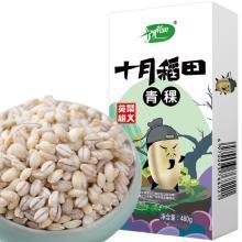 十月稻田青稞米青稞米酒五谷杂粮东北粗粮青稞饼米大麦元麦480g(满50包邮)