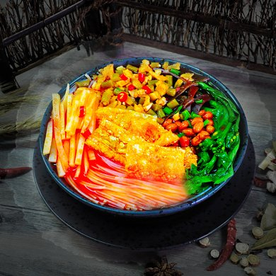 【廣西特產】柳之味 螺螄粉300g*3包 廣西柳州特產螺絲粉