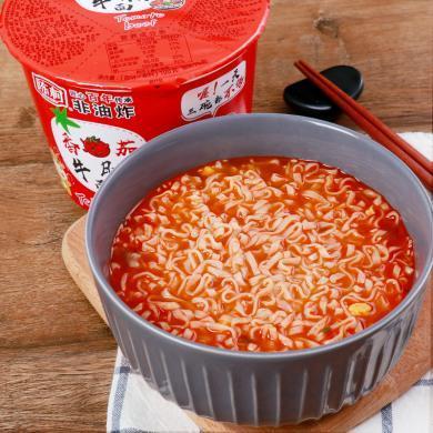 陈村 番茄牛腩面 100g*6桶装 方便面 杯面 速食泡面非油炸