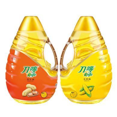 2.2L刀嘜壓榨花生油+2.2L刀嘜玉米油 NC3(2.2L+2.2L)