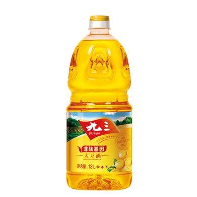 九三 非轉基因 一級 大豆油 1.8L 食用油1.8升
