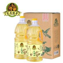 寶慶桂芳 茶油之都 野生山茶油 茶籽油 食用油 東方橄欖油 純茶油1.8L*2瓶