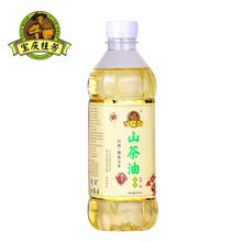 宝庆桂芳山茶油纯正茶油孕妇月子食用油野生茶籽油500ml