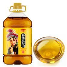 仙餐 黄金产地纯香菜籽油 四川压榨非转基因食用油4L植物油 新旧包装随机发货