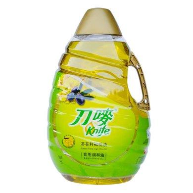 刀唛芥花籽橄榄油食用调和油(5L)