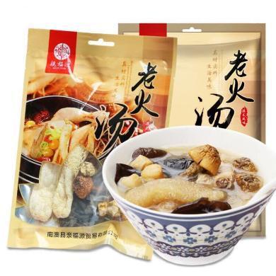湯料包煲湯材料 廣東滋補湯養生藥膳燉品 姬松茸干貝花菇湯80g