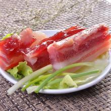 【广东特产】大利是福 广东水晶腊肉120g*5包 袋装 得福大利是福腊味 年货送礼广式特产