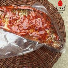 【广西特产】土特产 广西融水贝江村 农家自制 腌鱼 苗家酸鱼 稻花鱼 禾花鱼约400g