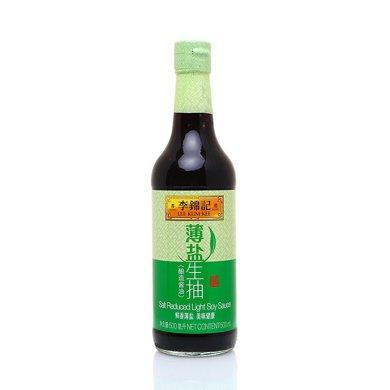 李锦记薄盐生抽(500ml)