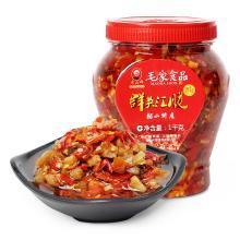 【湖南特产】汤妈妈群英汇脆1000g 毛家食品辣椒酱特产香辣酱咸菜拌面下饭菜