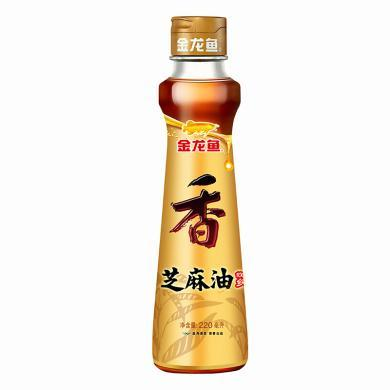 金龙鱼芝麻油(220ml)(220ml)(220ml)