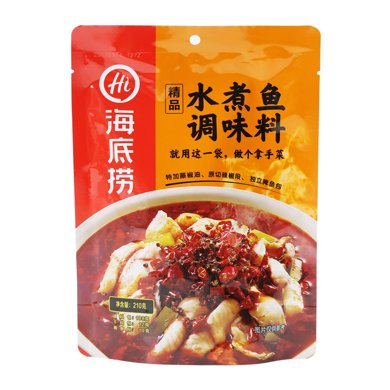 海底撈精品水煮魚調味料(210g)