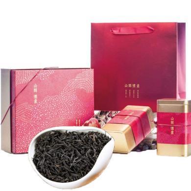 滇邁 正山小種紅茶茶葉禮盒裝武夷山桐木關散裝小種300g新茶