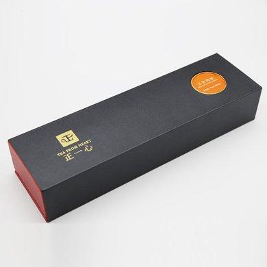 正一心 茶叶 新品 福建武夷 岩茶 乌龙茶 正岩肉桂 浓香型  特产礼盒装 红色 96g