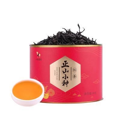 八马茶业 正山小种 红茶 散装自饮茶?#35910;?#35013;80克 D0092