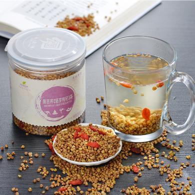 【2罐裝】問候自然黑苦蕎茶 蕎麥茶花草茶枸杞胚芽茶貴州特產