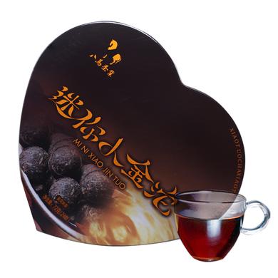 八馬茶業 云南普洱小金沱 熟普洱黑茶茶葉 家庭裝72克 C0090