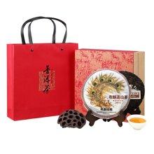 2011年纯料布朗高山茶云南普洱茶生茶饼茶(礼盒装)
